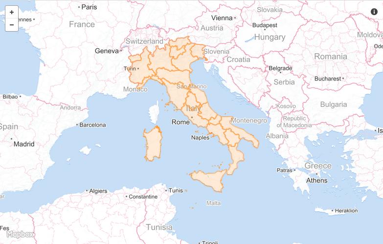 Cartina Italia Regioni E Confini.Ecco I Dati Geografici Per Costruire Mappe Datajournalism It